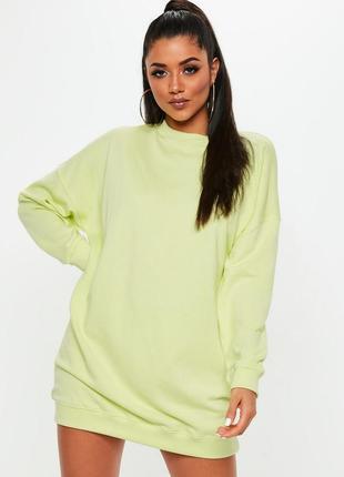 Оверсайз свитер-платье s-m