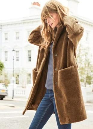 Шубка/пальто плюшевая от next новая,с бирками,в упаковке