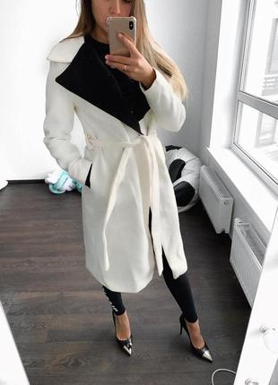 Пальто кашемир2 фото