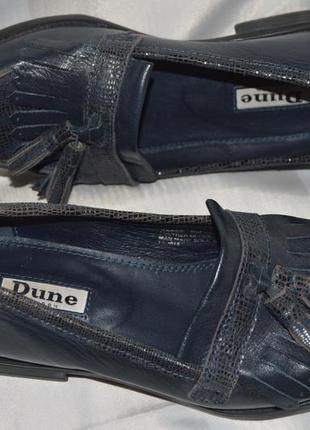 Туфли лофери кожа duna размер 35, туфлі шкіра