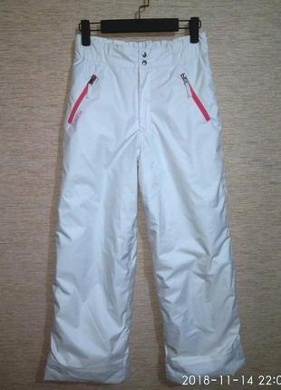 Лыжные /сноубордические штаны на девочку фирмы wed'ze decathlon