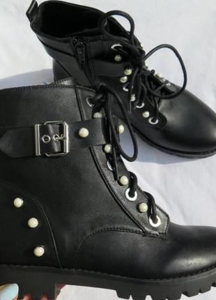 Ботинки stradivarius