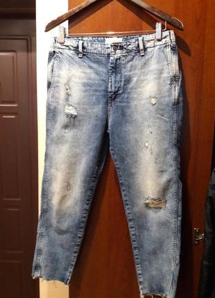 Штаны,джинсы очень стильные,с потёртостями ralph lauren denim&supply. 27р. ralph lauren