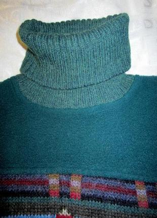 Очень теплый свитер под горло ribe di kappa (оригинал)
