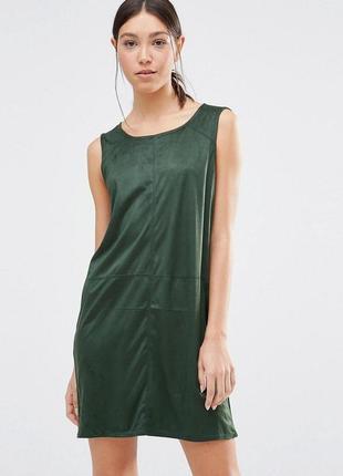 Замшевое платье vila