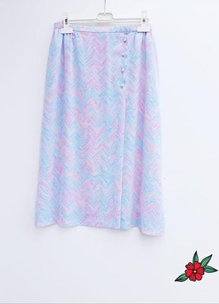 Нежная юбка миди с пуговичками сказочная юбка миди
