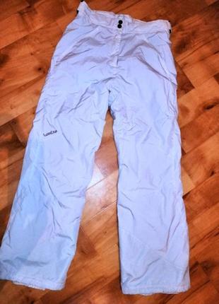 Женские лыжные штаны  фирмы wed'ze decathlon