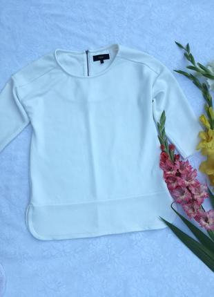 Блуза из плотного фактурного материала
