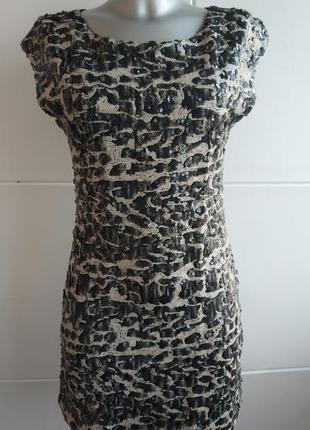 Шикарное платье в паетках rare london.