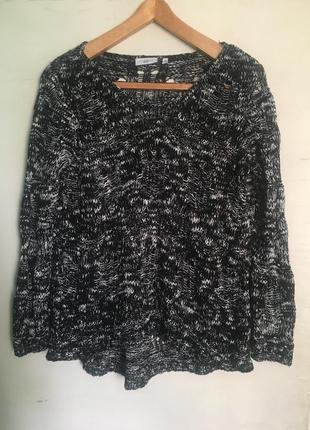 Дырчастый свитер new look
