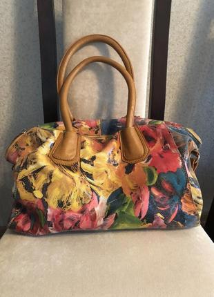 Кожаная сумка valensiy
