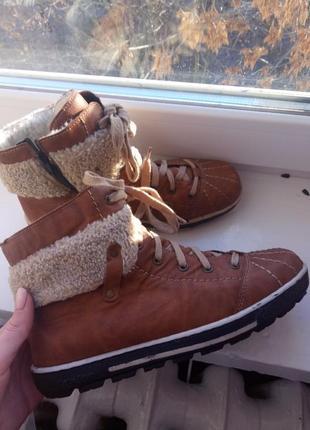 Ботинки утеплённые от rieker