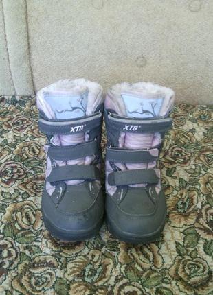 Полусапожки, ботинки зимние, р-35, сапожки