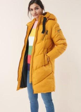 Зимняя дутая длинная куртка next новая,с бирками,большой размер