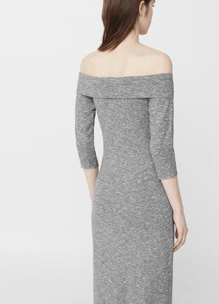Комфортное платье с объемной горловиной  dr1846213  mango2