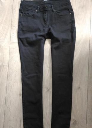 Черные джинсы с высокой посадкой 10p