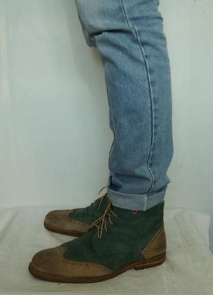 Стильные демисезонные ботинки nobrand(португалия)