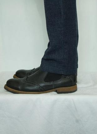Стильные демисезонные ботинки lavorazione artigiana, р.43 (полномерный)
