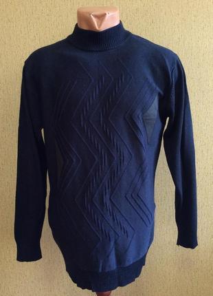 Мужской новый гольф свитер gf ferre оригинал шерсть шёлк р m-l