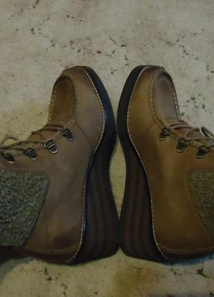 Сапожки ботинки нубук camel active 39р. на высокий подъем