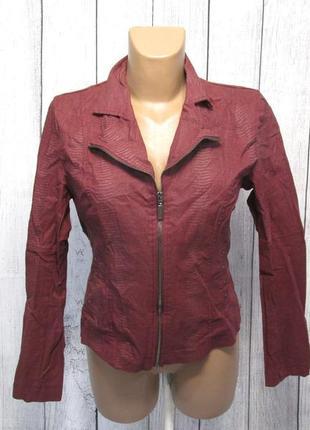Куртка легкая miss etam, 38, борд, как новая!