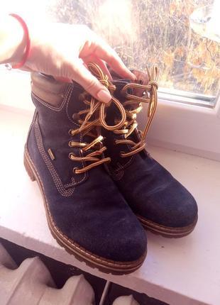 Ботинки на шнурках тимберленды от stone walk