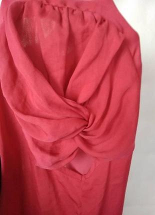 Блузка zara с коротким рукавом \ m