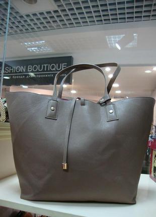 Фірмова англійська сумка шоппер new look