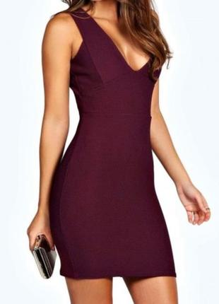Красивое облегающее платье, boohoo