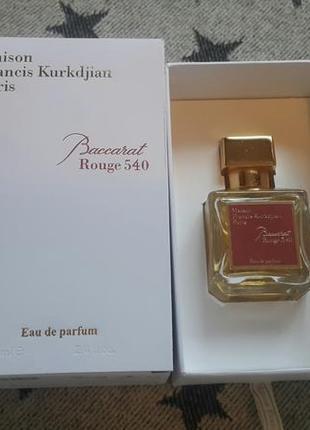 Оригинальный парфюм francis kurkdjian baccarat