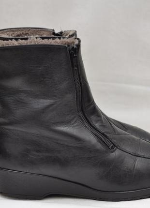 Сапоги кожаные , зима  38р.