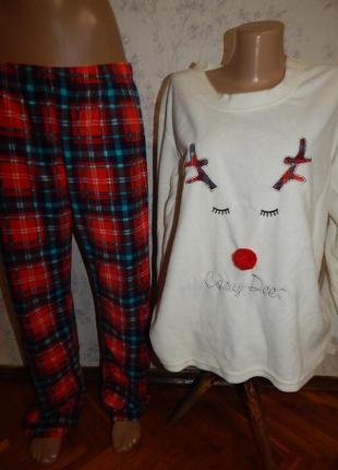 Daisy dreamer пижама тёплая флисовая кофта со штанишками рl