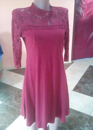 Плаття з гипюром asos