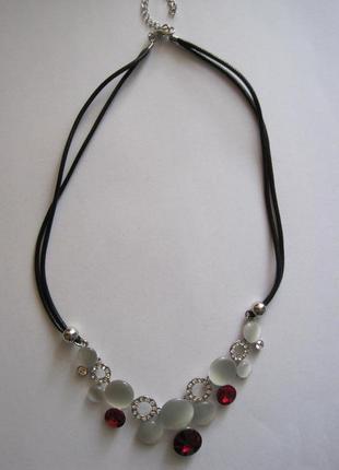 4-45 ожерелье opal бижутерия