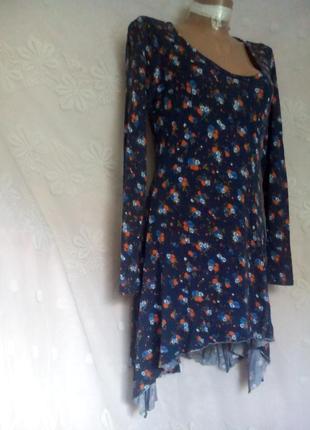 Трикотажное платье ,l