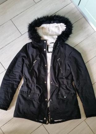 Куртка  парка tally weijl размер sm