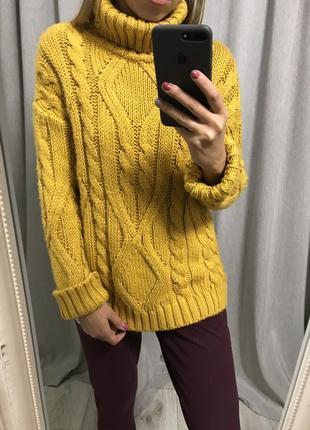 Тёплый свитер s 36 primark