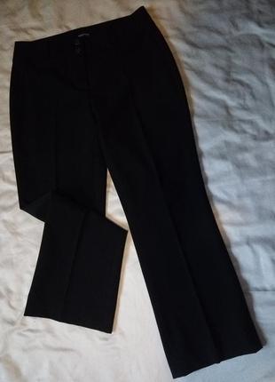 Осенние классические брюки высокая посадка