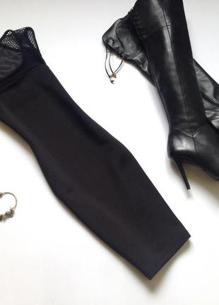 Черное платье мини suiteblanco. смотрите мои объявления!