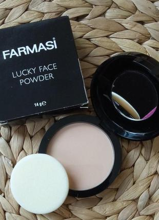 Farmasi lucky face powder тон 4