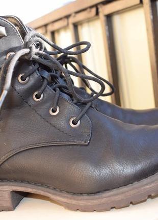 Зимние ботинки риекер rieker р.40 26 см полусапоги