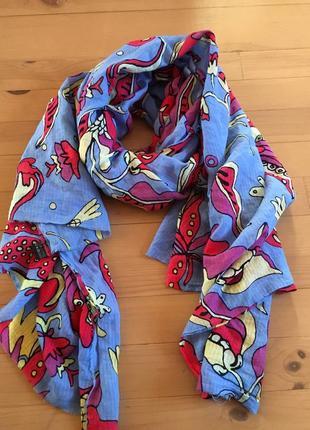 Дуже красивий шарф палатін парео 190*120
