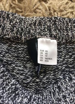 Укороченный  свитер с разрезами по бокам2