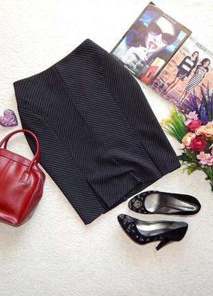 Элегантная юбка в полоску для делового гардероба dorothy perkins
