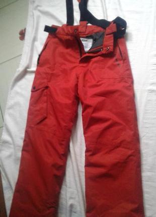 Лыжные термо штаны для мальчика