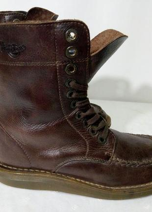 Кожаные сапоги,ботинки dr.martens (др. мартинс), 40р,стелька25,5см, хорошее состояние