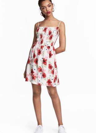 1+1=3 нежное платье цветочный принт