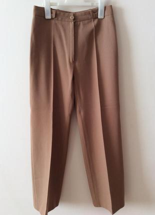 Очень стильные  широкие брюки из чистейшей  шерсти люкс качества