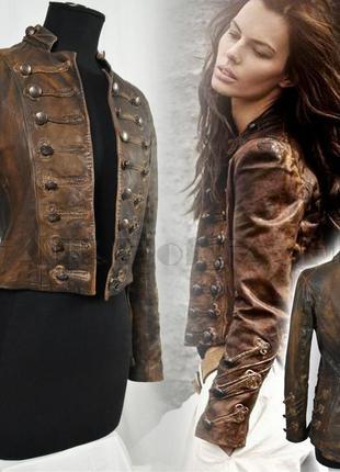Allsaints karst кожаный сюртук олсейнтс самый редкий цвет и дизайн, винтаж, в идеале.