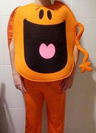 Карнавальный костюм тыквочка, смайлик на хэллоуин